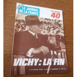 """ANCIEN MAGAZINE COLLECTION """"LE JOURNAL DE LA FRANCE:LES ANNÉES 40 """"HEBDOMADAIRE HISTORIA n°JOURNAL DE LA FRANCE 169"""