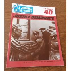 """ANCIEN MAGAZINE COLLECTION """"LE JOURNAL DE LA FRANCE:LES ANNÉES 40 """"HEBDOMADAIRE HISTORIA n° 188"""