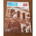 """ANCIEN MAGAZINE COLLECTION """"LE JOURNAL DE LA FRANCE:LES ANNÉES 40 """"HEBDOMADAIRE HISTORIA n°198"""
