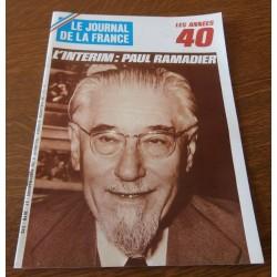 """ANCIEN MAGAZINE COLLECTION """"LE JOURNAL DE LA FRANCE:LES ANNÉES 40 """"HEBDOMADAIRE HISTORIA n°209"""