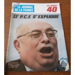 """ANCIEN MAGAZINE COLLECTION """"LE JOURNAL DE LA FRANCE:LES ANNÉES 40 """"HEBDOMADAIRE HISTORIA n°192"""
