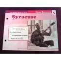 """FICHE FASCICULE """"PAROLES DE CHANSONS"""" HENRI SALVADOR Syracuse 1962"""