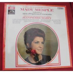 Disque Vinyle - 33 tours -Airs D'opéras Français - Mady Mesplé