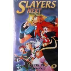 Cassette k7 vidéo vhs mangas Slayers Next saison 2, vol 4 Takashi Watabe occasion
