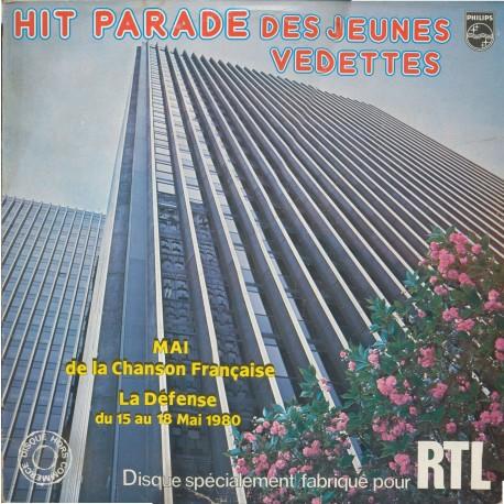 Disque Vinyle -33 tours Hit Parade Des Jeunes Vedettes