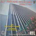 Disque Vinyle -33 tours Hit Parade Des Jeunes Vedettes,Loiseau, Lacaux, Alain Brice, Bonneville,Philippe Lafontaine..