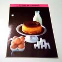 """FICHE CUISINE de ELLE vintage rétro par Madeleine Peter """" Crème au caramel"""""""