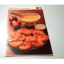 """FICHE CUISINE de ELLE vintage rétro par Madeleine Peter """"Matefaim aux pommes"""""""