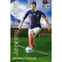 Aimant magnet frigo collection football joueur TOULALAN