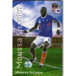 Aimant magnet frigo collection football joueur SISSOKO