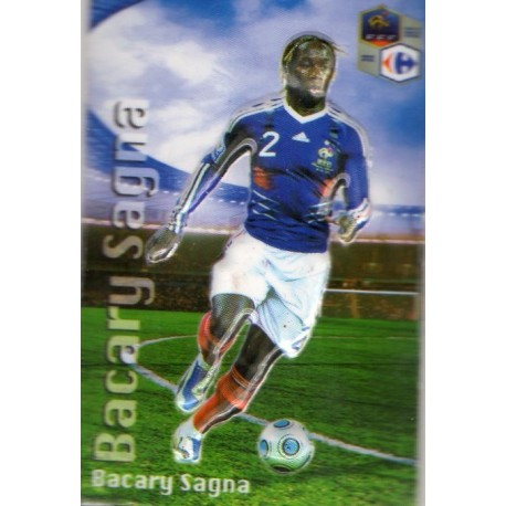 Aimant magnet frigo collection football joueur SAGNA