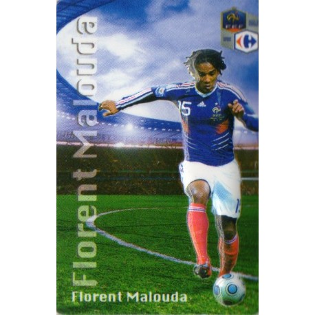 Aimant magnet frigo collection football joueur MALOUDA