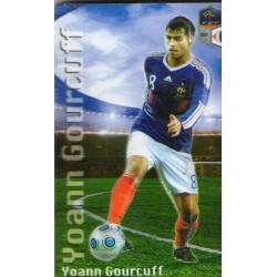 Aimant magnet frigo collection football joueur GOURCUFF