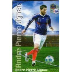 Aimant magnet frigo collection football joueur GIGNAC