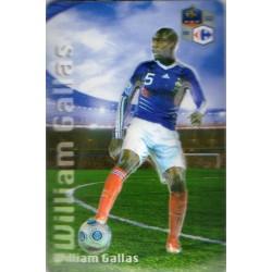 Aimant magnet frigo collection football joueur GALLAS