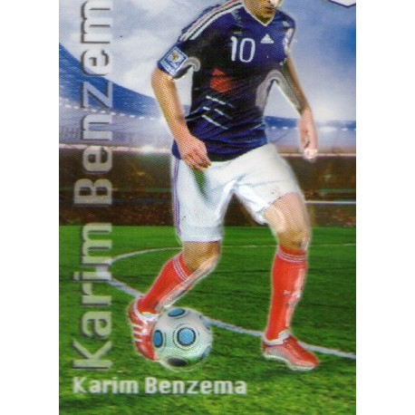 Aimant magnet frigo collection football joueur BENZEMA