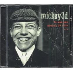 Musique cd Tu Vas Pas Mourir De Rire - Mickey 3d