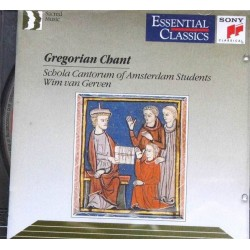 CD ALBUM MUSIQUE Gregorian Chant - Schola Cantorum of Amsterdam Students The Grégorian Chant