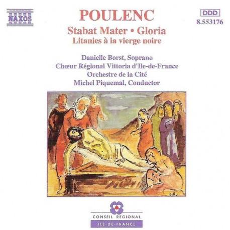 CD ALBUM MUSIQUE CLASSIQUE Stabat Mater, Gloria, Litanies Francis Poulenc