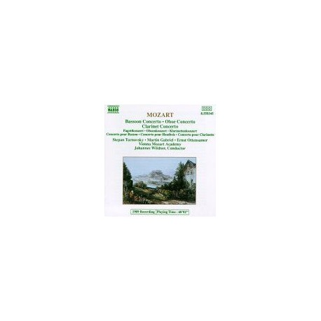 CD ALBUM MUSIQUE CLASSIQUE Concertos for Bassoon, Oboe & Clarinet Wolfgang Amadeus Mozart