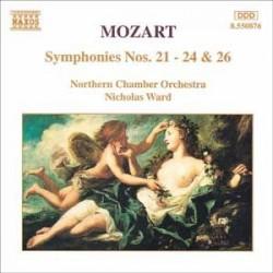 CD ALBUM MUSIQUE CLASSIQUE Symphonies nos. 21 à 24, no. 26 Northern Chamber Orch. Wolfgang Amadeus Mozart