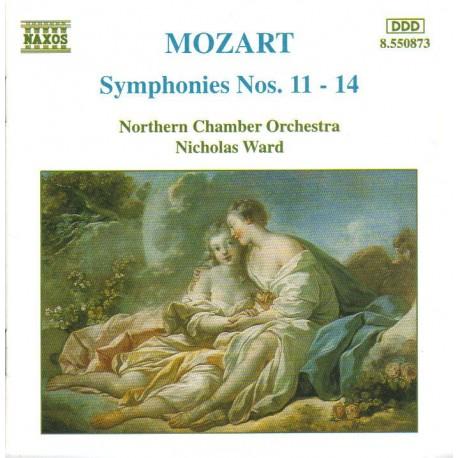 CD ALBUM MUSIQUE CLASSIQUE Symphonies nos. 11 à 14 Northen Chamber Orch. Wolfgang Amadeus Mozart