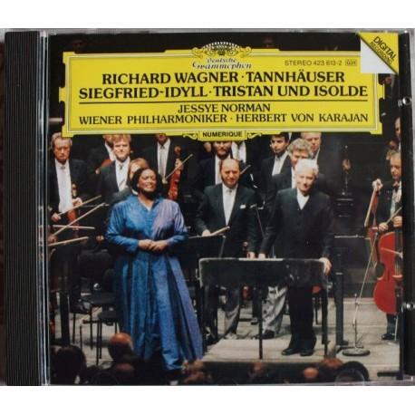 CD MUSIQUE CLASSIQUE Wagner : Tannhäuser und der Sängerkrieg auf Wartburg Siegfried-Idyll Tristan und Isolde Prélude