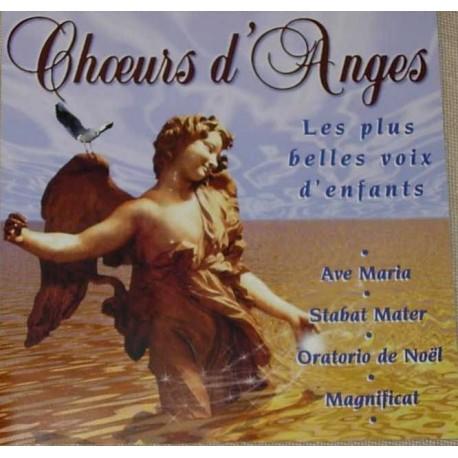 CD CHOEURS D'ANGES / VOL.1 (LES PLUS BELLES VOIX D'ENFANTS) Johann Sebastian Bach