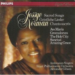 CD MUSIQUE CLASSIQUE Chants sacrés Norman Jessye