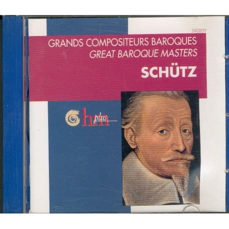 CD MUSIQUE CLASSIQUE Grands compositeurs baroques Heinrich Schulz Artist Divers