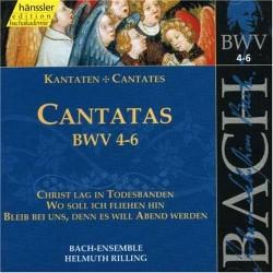 CD MUSIQUE CLASSIQUE cantatas bwv 4 - 6 Occasion très bon état