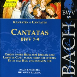 CD MUSIQUE CLASSIQUE cantatas bwv VOL 7 - 9 Occasion très bon état