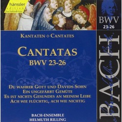 CD MUSIQUE CLASSIQUE cantatas bwv VOL 23 . 26 Occasion très bon état