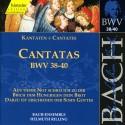 CD MUSIQUE CLASSIQUE cantatas bwv 38 39 40 Johann Sebastian Bach