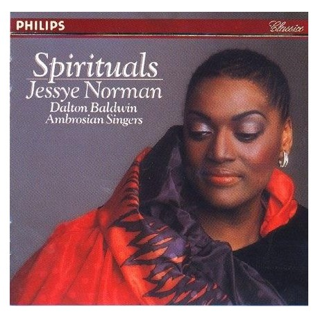 CD MUSIQUE CLASSIQUE Interprète 15 Négro Spirituals Ambrosian Singers Norman Jessye