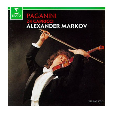 CD MUSIQUE CLASSIQUE collection Alexander Markov Paganini: 24 Capricci