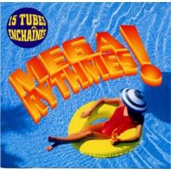 Musique cd compilation Mega Rythmes ! 15 Tubes Enchaines