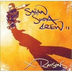 Musique cd rap compilation X Raisons - Saïan Supa Crew