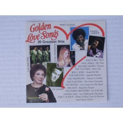 Musique cd compilation Golden Love Songs 20 Greatest Hits Various Artists