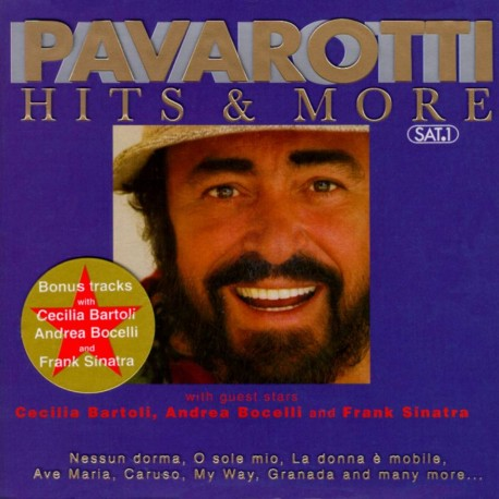Musique cd Luciano Pavarotti - Pavarotti Hits And More