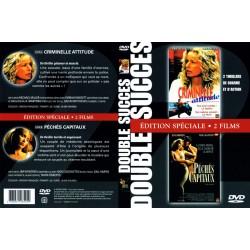 Double DVD zone 2 CRIMINELLE ATTITUDE + PÉCHÉS CAPITAUX NEUF SOUS BLISTER