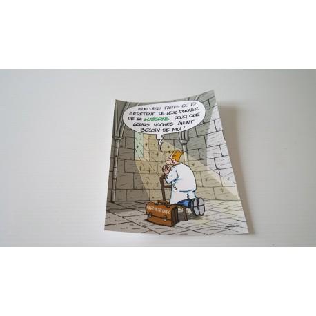Collection - Carte postale humour agriculteur luzerne - version 5