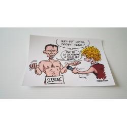 Carte postale humour agriculteur luzerne - Collection version 13 neuve