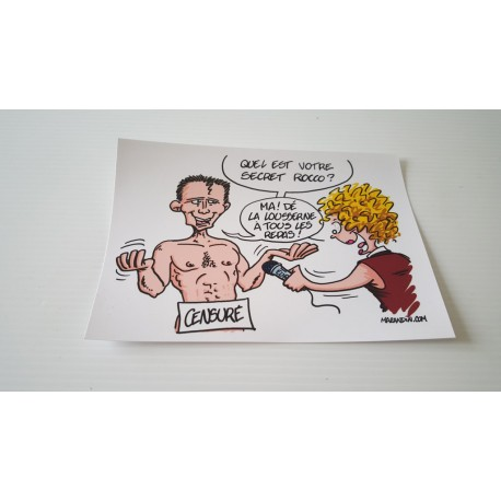 Collection - Carte postale humour agriculteur luzerne - version 13
