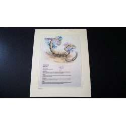 Diplome signe astrologique - Zodiaque - Scorpion - Neuf