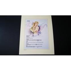 Diplome signe astrologique - Zodiaque - Vierge - idée cadeau anniversaire fête Neuf