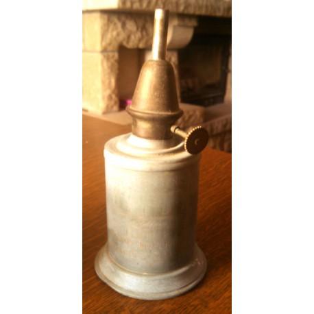 Ancienne lampe a essence BRULOR pour collectionneur métal