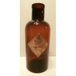 Ancienne bouteille médicinale pharmacie marron verre lactose droguerie herboristerie Darrasse frères