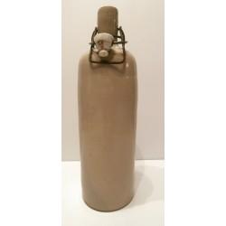Ancienne bouteille Bouillotte en grès vintage avec bouchon cidre,eau,vin,liqueur.. (3)
