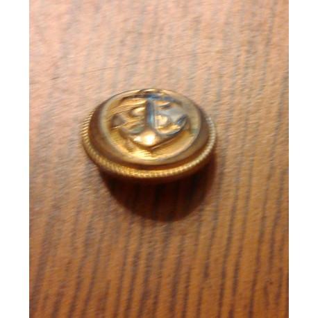 Collectionneur ancien Bouton Marine - W.W, Paris, 21mm